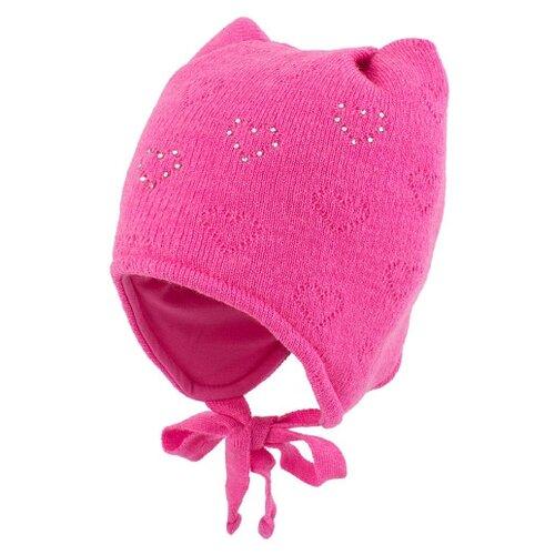 Купить Шапка Prikinder размер 46-48, ярко-розовый, Головные уборы