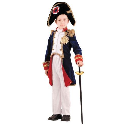 Купить Костюм Батик Наполеон (911), синий/белый, размер 146, Карнавальные костюмы