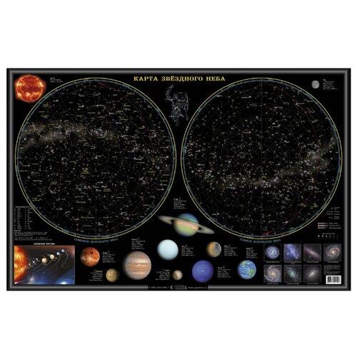 Купить ГеоДом Карта настольная Звездное небо/планеты (4607177451497), Карты