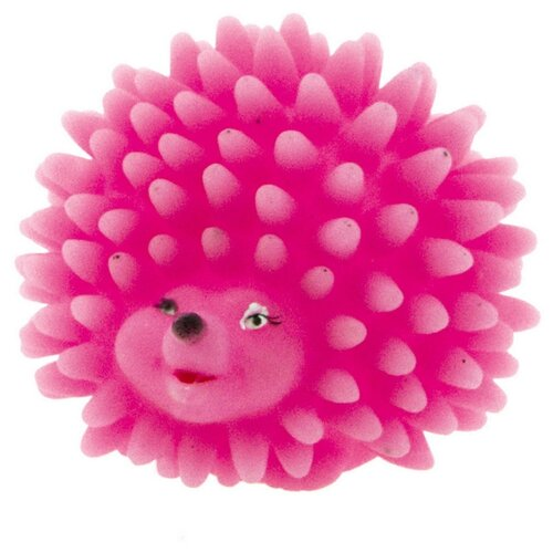 цена на Мячик для собак DEZZIE Ежик (5604056) розовый