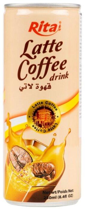 Кофейный напиток Rita Латте 0.25 л