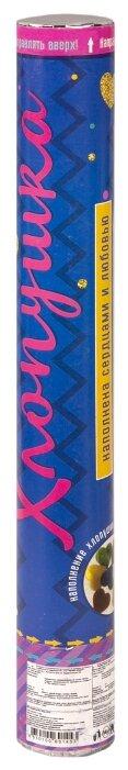 Пневмохлопушка Феникс Present с конфетти в форме сердец (78446)