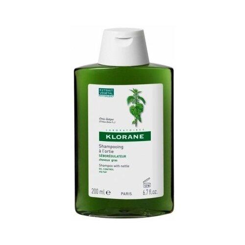 Klorane шампунь Oil Control Shampoo with nettle 200 мл klorane shampoo