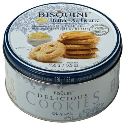 Печенье Bisquini сдобное ассорти, 150 г