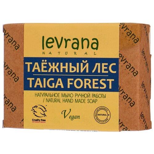 Мыло кусковое Levrana Таежный лес натуральное ручной работы, 100 г levrana натуральное мыло календула 100 г