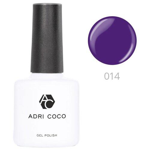 Купить Гель-лак для ногтей ADRICOCO Gel Polish, 8 мл, 014 фиолетовый