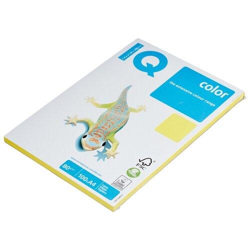 Фото - Бумага IQ Color А4 80 г/м² 100 лист. канареечно-желтый CY39 1 шт. бумага iq color а4 80 г м² 100 лист розовый неон neopi 1 шт