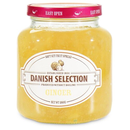 Варенье Danish Selection с имбирем, банка 380 г варенье danish selection апельсиновое банка 380 г