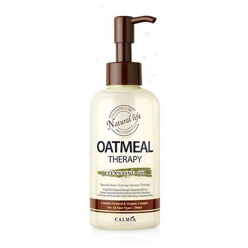 Купить Calmia гидрофильное масло с экстрактом овса Oatmeal Therapy Cleansing Oil, 200 мл