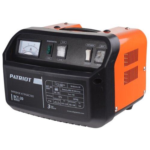 цена на Зарядное устройство PATRIOT BCT-20 Boost черный/оранжевый