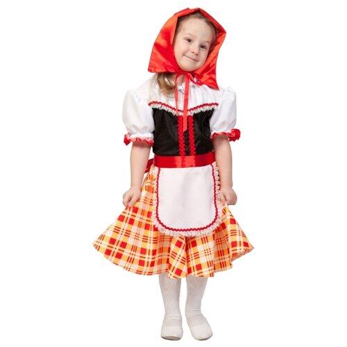 Купить Костюм КарнавалOFF Красная шапочка (5029), белый/красный, размер 92-110, Карнавальные костюмы