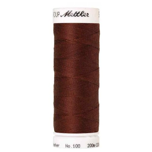Купить AMANN GROUP Mettler Нить универсальная Seralon 1678, 0196 Coffee Bean 200 м, Нитки