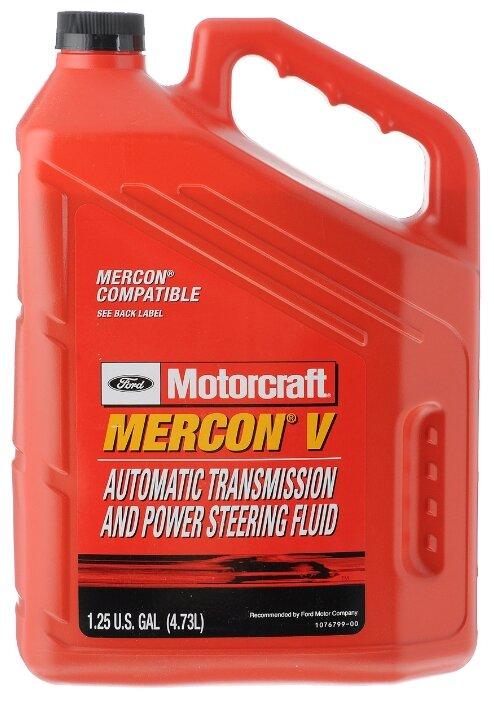 Трансмиссионное масло Ford Motorcraft Mercon V ATF 0.9 л