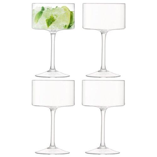 LSA Набор бокалов Otis Champagne/Cocktail Glass 4 шт 280 мл прозрачный недорого