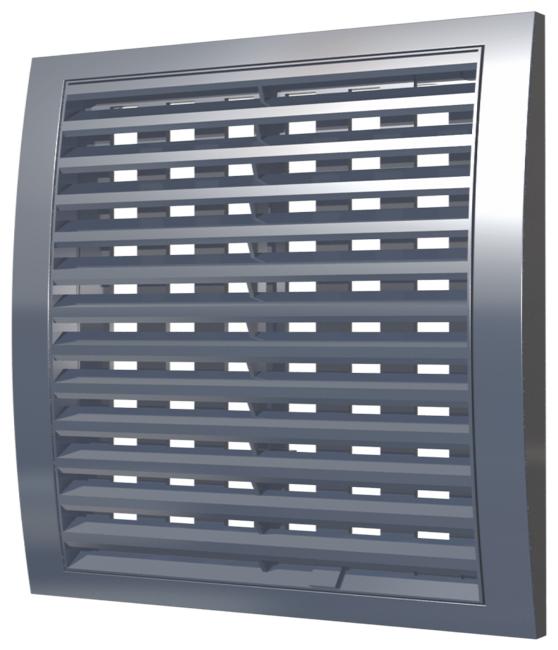 Вентиляционная решетка ERA Street Line 2525РРПН 250 x 250 мм