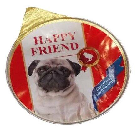 Корм для собак Happy Friend курица 125г