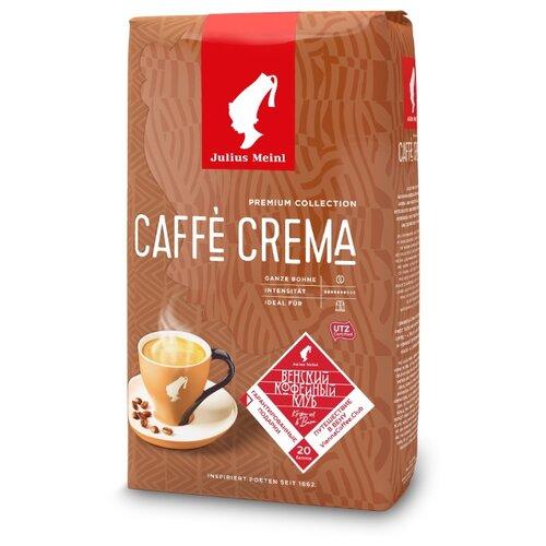 Кофе в зернах Julius Meinl Caffe Crema Premium Collection, арабика/робуста, 1 кг кофе в зернах caffe carraro crema italiano 1 кг