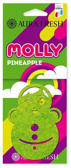 AURA FRESH Ароматизатор для автомобиля Molly Pineapple