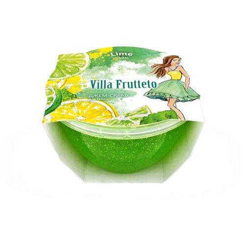 Villa Frutteto Джем-скраб для душа Лайм, 220 мл