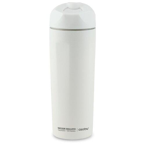 цена на Термокружка asobu Easy access (0,42 л) белый