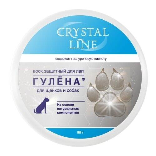 Воск Apicenna Crystal line Гулена защитный воск для лап собак 90 г