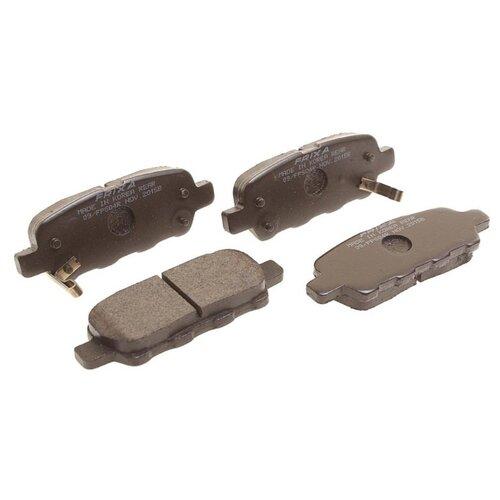 Дисковые тормозные колодки задние Frixa FPS04R для Nissan, Infiniti (4 шт.)