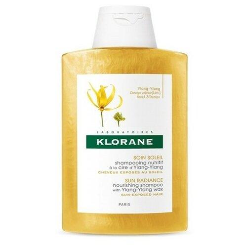 Klorane шампунь Sun Radiance Nourishing with Ylang-Ylang Wax 200 мл цена 2017