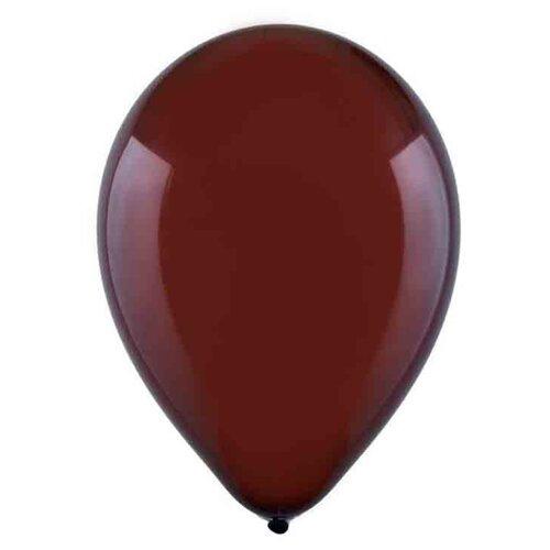Набор воздушных шаров MILAND Пастель 30 см (100 шт.) Коричнево-бордовый
