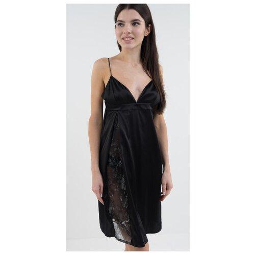 Сорочка D'amore размер XS/40-42 черный платье oodji ultra цвет красный белый 14001071 13 46148 4512s размер xs 42 170