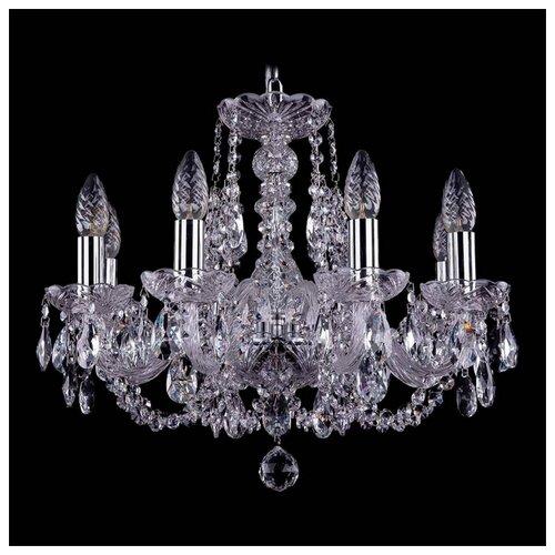 Люстра Bohemia Ivele Crystal 1406 1406/8/160/Ni, E14, 320 Вт люстра bohemia ivele crystal 1406 1406 8 160 ni leafs e14 320 вт
