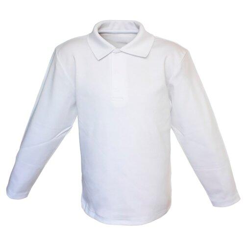Купить Поло Снег размер 134-140, белый, Футболки и майки