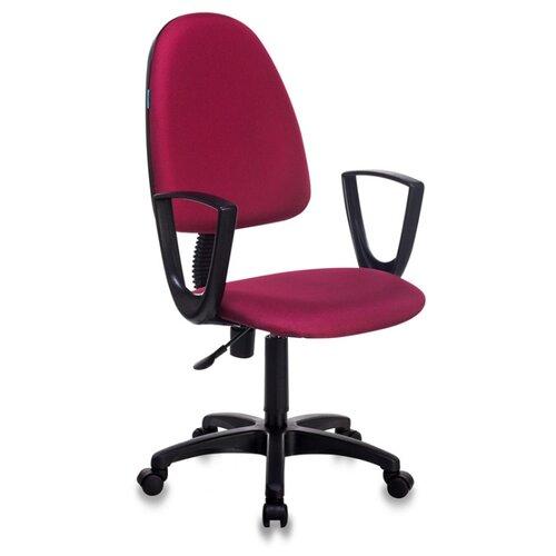 Компьютерное кресло Бюрократ CH-1300N офисное, обивка: текстиль, цвет: бордовый 15-11 офисное кресло бюрократ ch 1300n