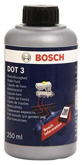 Тормозная жидкость Bosch DOT 3 Brake Fluid 0.25 л