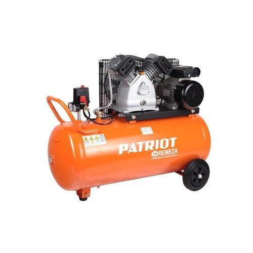 Компрессор масляный PATRIOT REMEZA СБ 4/С- 100 LB 30 A, 100 л, 2.2 кВт компрессор ременной patriot remeza сб 4 с 100 lb 30 a