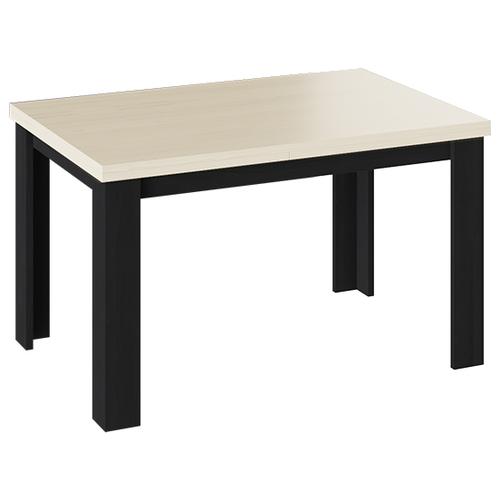 Стол кухонный ТриЯ Хьюстон тип 2, раскладной, ДхШ: 120 х 80 см, длина в разложенном виде: 230 см, Черный/Каттхилт стол кухонный трия т1 раскладной дхш 23 2 х 80 см длина в разложенном виде 160 см венге цаво