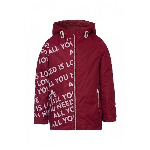 Купить Куртка Oldos размер 128, вишневый, Куртки и пуховики