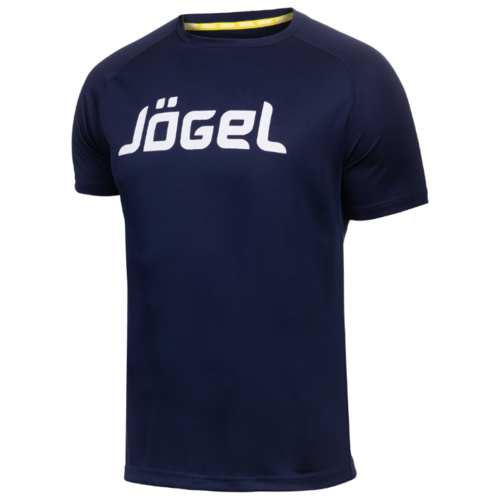 Футболка Jogel JTT-1041 размер XS, темно-синий/белый платье oodji ultra цвет красный белый 14001071 13 46148 4512s размер xs 42 170