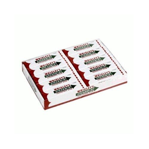 Жевательная резинка Wrigley's Spearmint Сладкая мята без сахара, 20 пачек
