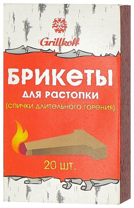 Grillkoff Спички длительного горения, 20 шт.