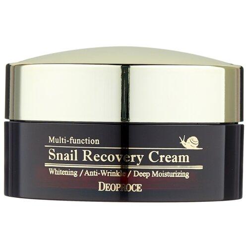 Deoproce Snail Recovery Cream Восстанавливающий крем для лица с муцином улитки, 100 г бб крем с муцином улитки deoproce intense snail bb no 21 50мл