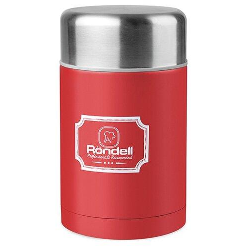 Термос для еды Rondell Picnic, 0.8 л красный