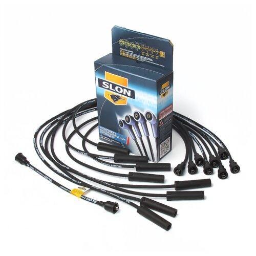 Комплект высоковольтных проводов системы зажигания SLON ПШКД.130.3707080