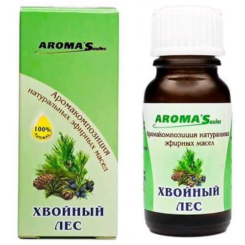AROMA'Saules смесь эфирных масел Хвойный лес, 10 мл