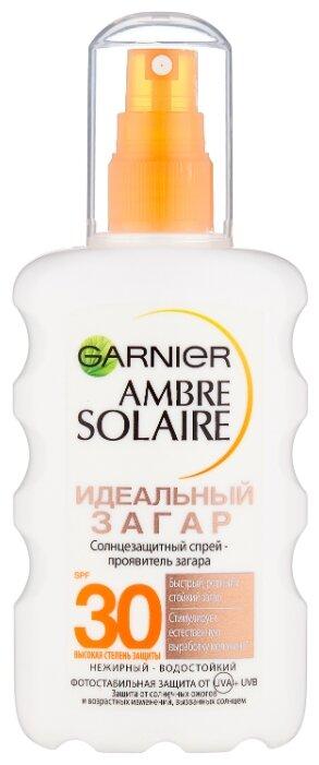 GARNIER Ambre Solaire солнцезащитный спрей Идеальный Загар