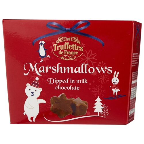 Зефир Truffettes de France в молочном шоколаде 200 г
