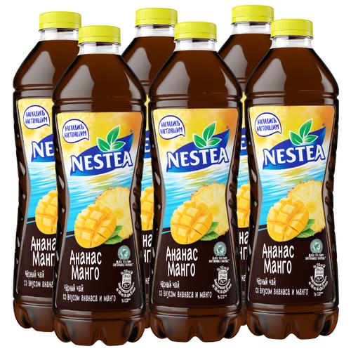 Чай Nestea черный со вкусом Ананаса и Манго, 1.5 л, 6 шт.
