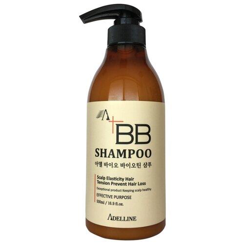 Adelline шампунь ВВ против выпадения волос, 500 мл ducray неоптид лосьон от выпадения волос для мужчин 100 мл