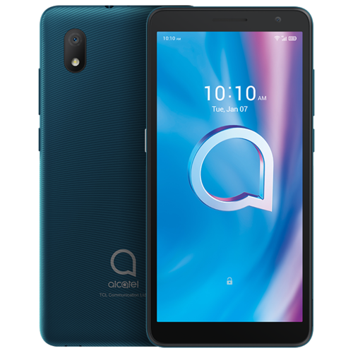 Смартфон Alcatel 1B (2020) 5002D синий смартфон alcatel 1a 2020 5002f pine green