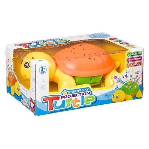 Купить Развивающая игрушка Черепаха желтый/оранжевый, Shenzhen Jingyitian Trade, Развивающие игрушки