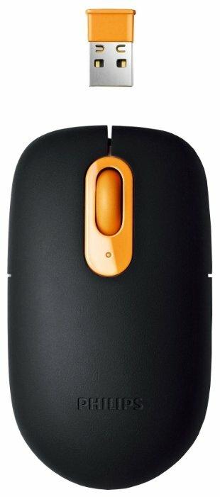 Мышь Philips SPM6910/10 Black-Yellow USB